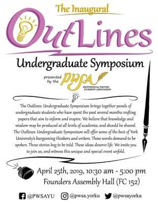 Outlines Undergraduate Symposium Poster